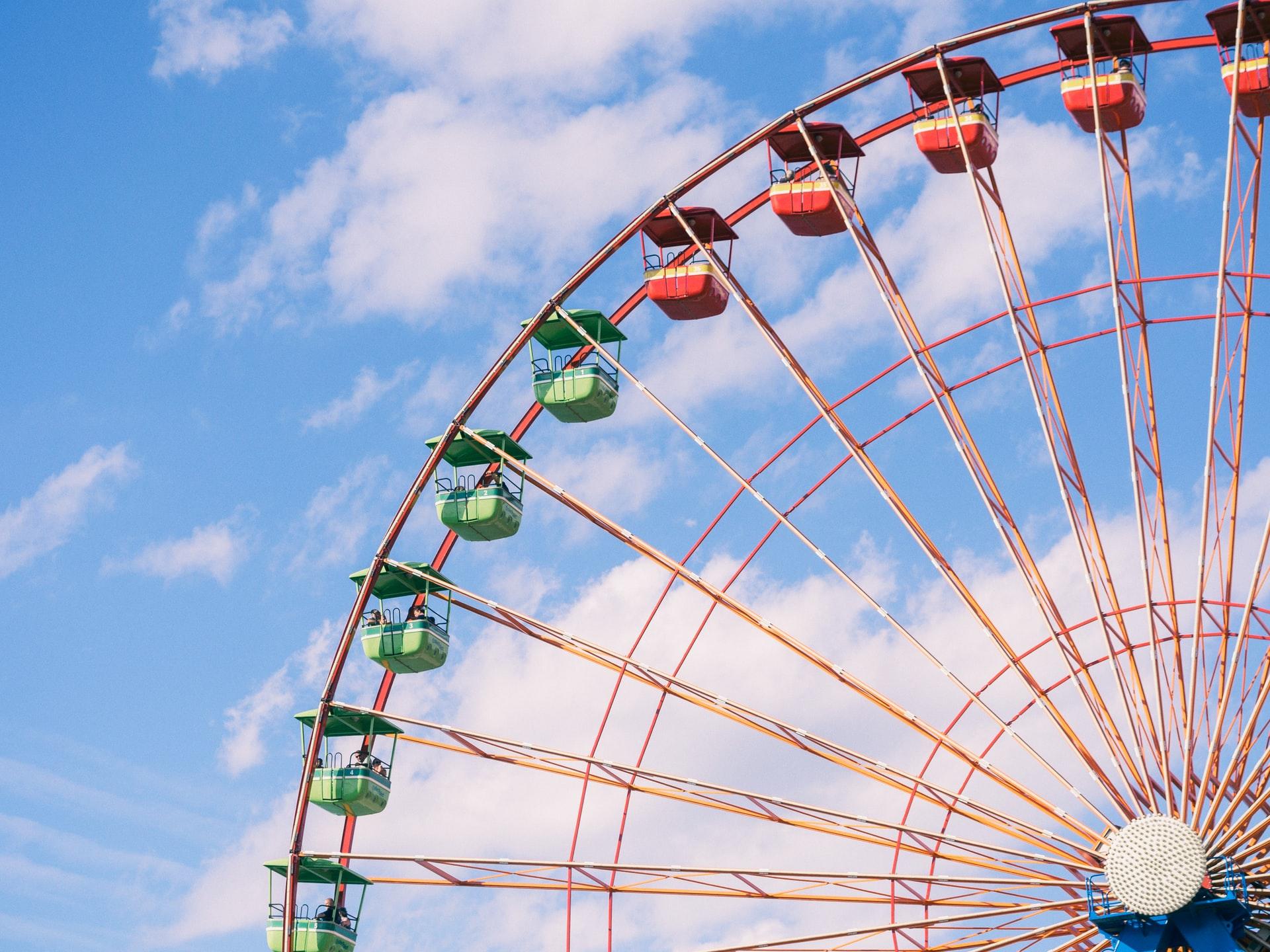 Enjoy a Bird's Eye View of DC Aboard the The Capital Wheel